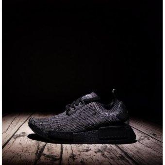 40b31511d Jual Running shoes for NMD R1 Primeknit Pitch Black S80489 intl ...