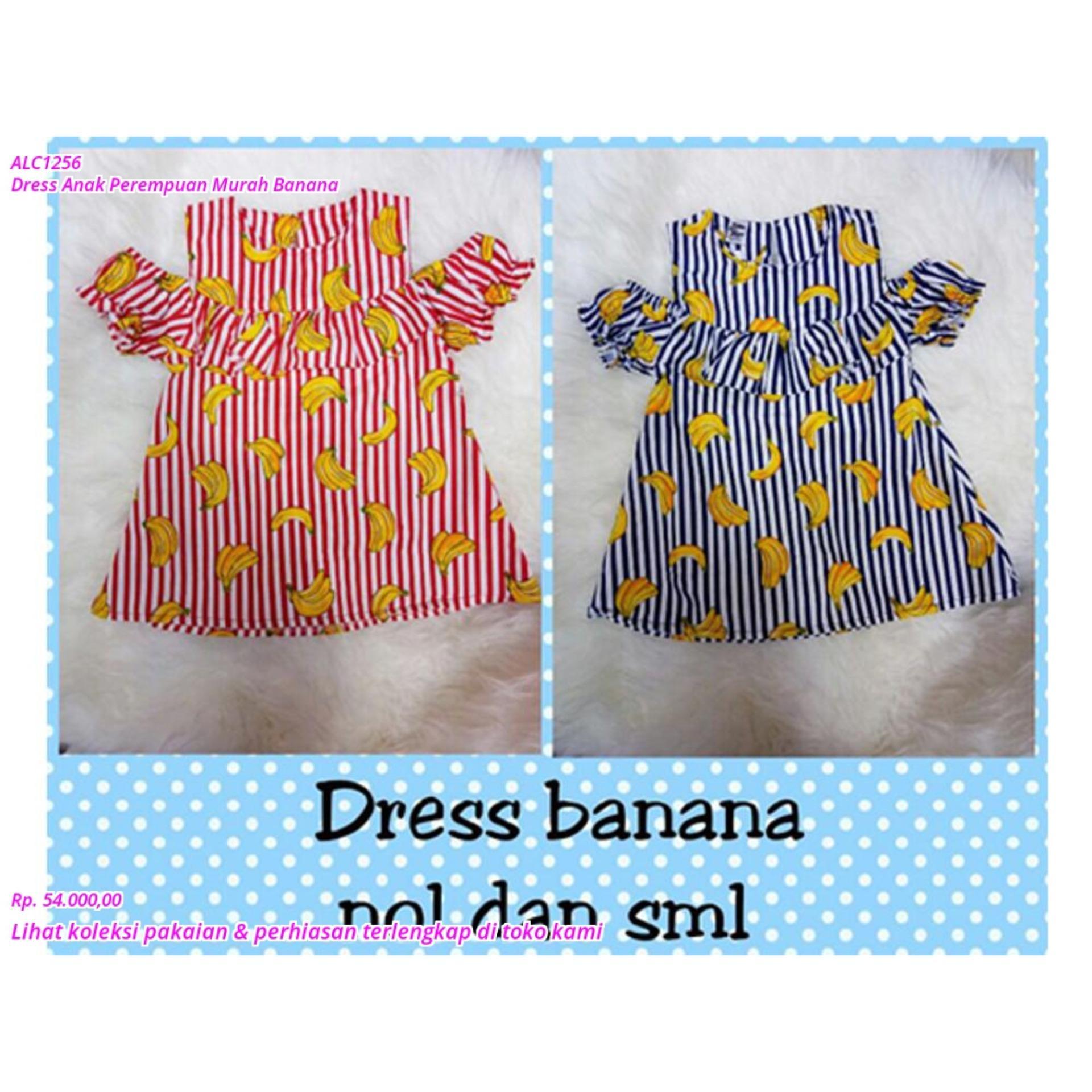 SALE Dress Anak Perempuan Murah Banana TERMURAH