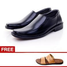Salvo Sepatu Formal 959 Free Sandal L01 tan