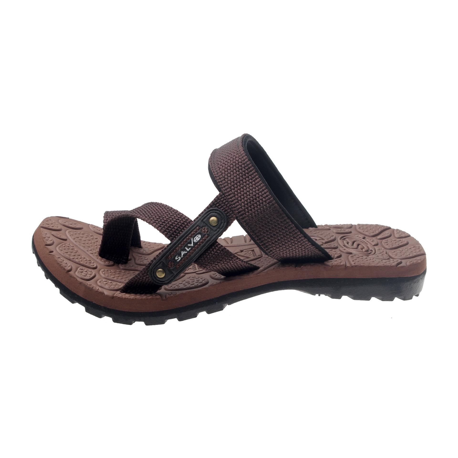 ... Salvo sepatu sneaker denim ST coklat free SG01 coklat ...