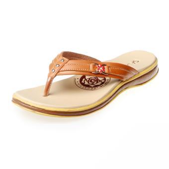 Salvora sandal kasual S19-Tan - 3