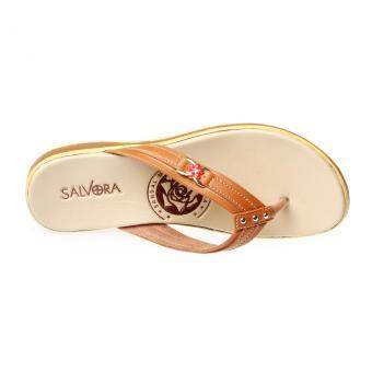 Salvora sandal kasual S19-Tan - 5