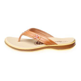 Salvora sandal kasual S19-Tan - 4