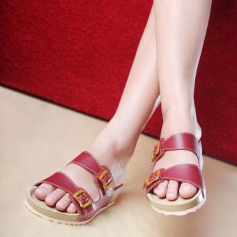 Salvora sandal trendy PW02 Maroon