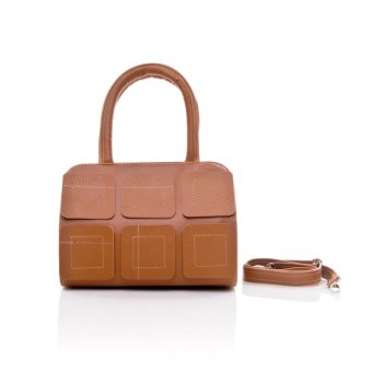 Salvora top handle bag SV09 - COKLAT
