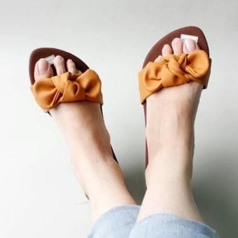 Pluvia - Sandal Flat Wania Pita - Orange
