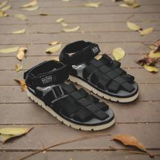 Sandal Original Sandal Gunung/Tracking/Hiking Pria Casual - NAVARA WOODLEY - Hitam - Coklat - Biru - Olive