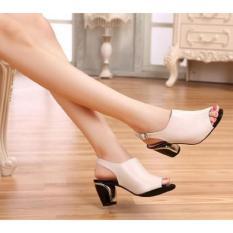 Sandal Wanita Murah Heels IP21 Cream