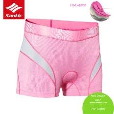 Santic Cycling Bike Underwear Women Breathable 3D Paded Shorts Comfortable Short - intl