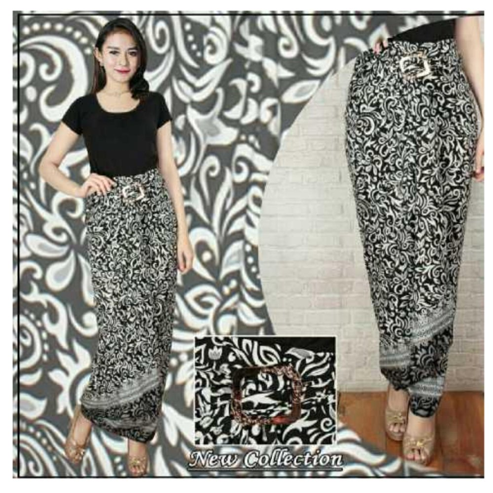 Long Source SB Collection Rok Lilit Batik Blakia Jumbo Hitam Lazada Indonesia Source .