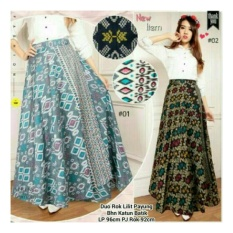... SB Collection Rok lilit Maxi Duera Batik Long Skirt AbuIDR67900 Rp 67 900