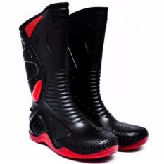 Sepatu AP Boot moto 2 BEST SELLER biker boot karet anti air
