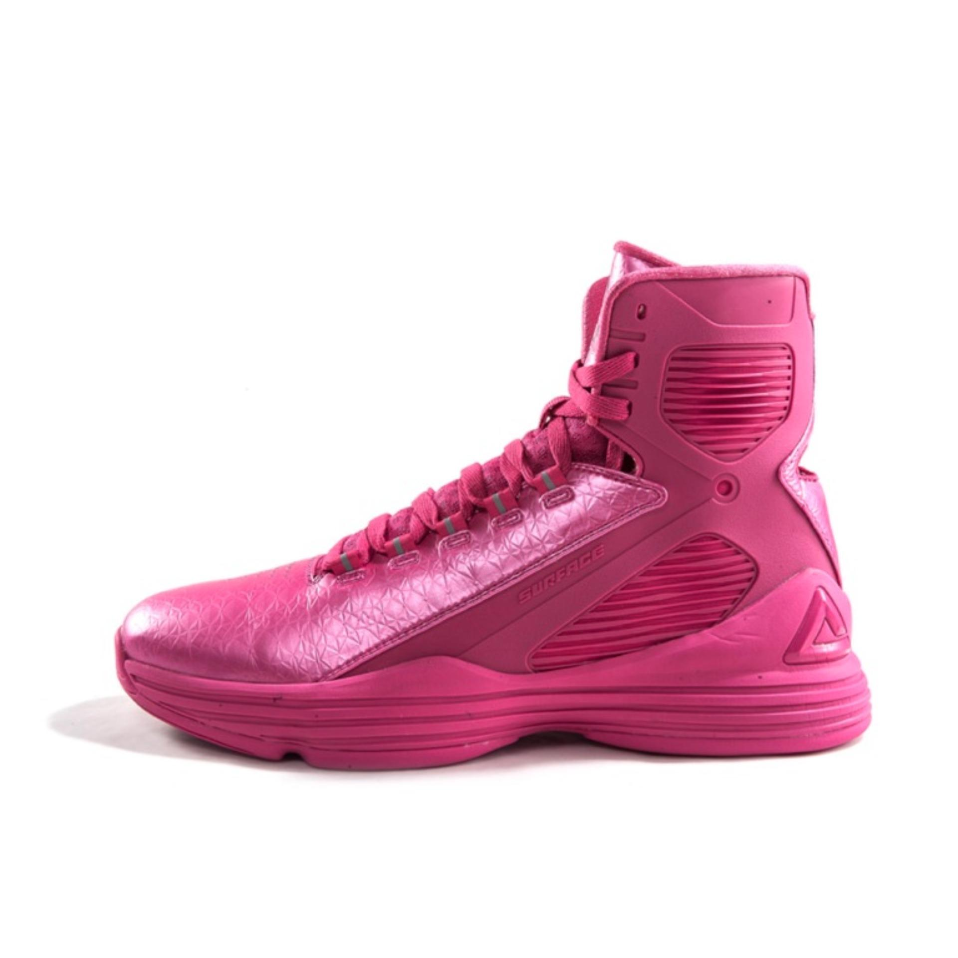 Sepatu Basket Peak E51301a George Hill Edition Hitam Daftar Harga Tony Parker9 Ii E44323a Blue Red E51001a Galaxy Pink