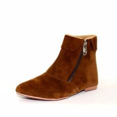 Sepatu Boot Anak Perempuan JJT-12 Coklat
