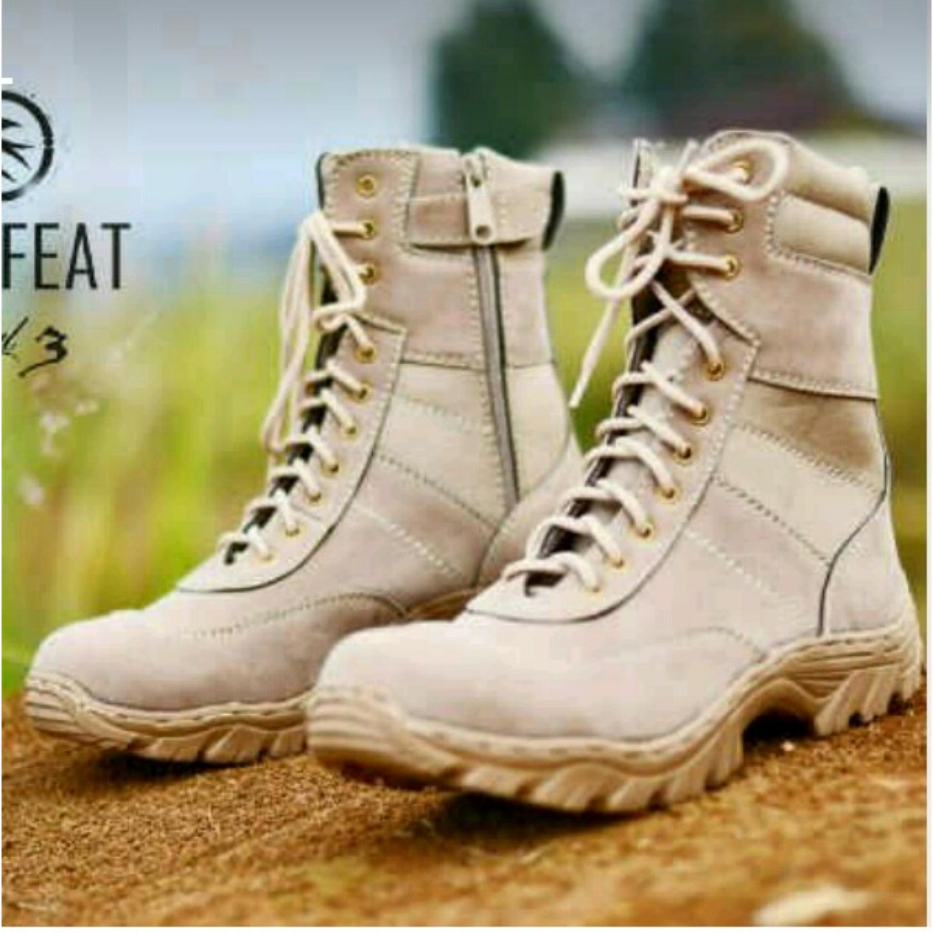 Dbest Sepatu Boot Hiking Delta High 8inch Quality Outdoor Gurun ... a1c38da051