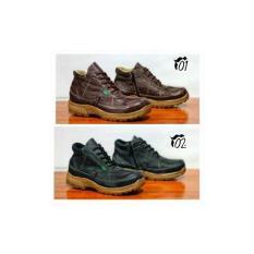 Sepatu Safety Pria wanita Semi Boots Kickers Grotex Kulit Sued Az ... e18cf7c209