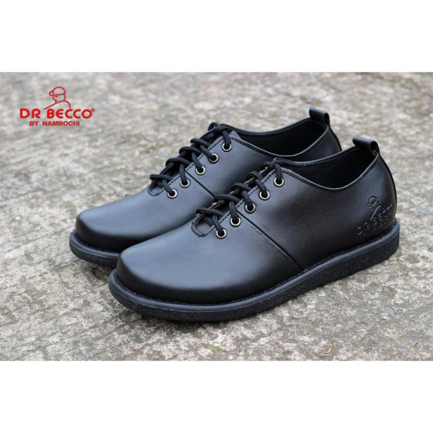 sepatu BRODO LOW Dr becco original dr becco hitam. sepatu BRODO LOW Dr becco original
