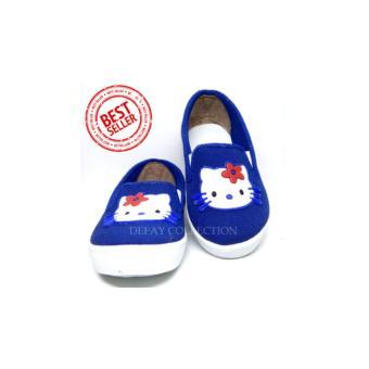 harga Sepatu Casual Anak Murah   Sepatu Anak Perempuan   Hello Kitty Biru Lazada.co.id