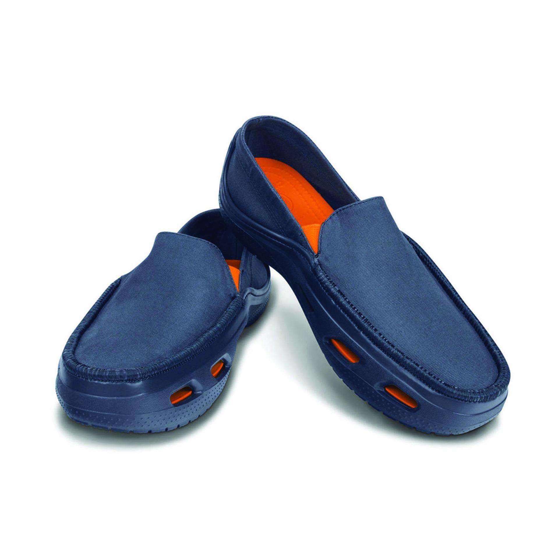 ... Sepatu Crocs Tideline Sport Canvas ...