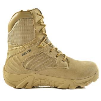 "Sepatu Delta Force 8"" Sepatu Boots Taktis Outdoor [Dessert]"