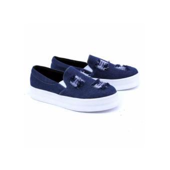 Kim Sepatu Sekolah Anak Laki laki Sneaker LUCSTAR - Hitam . Source · Sepatu Flat Casual