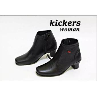harga Sepatu Kerja Wanita Kickers Pantofel Kulit Asli Premium Lazada.co.id