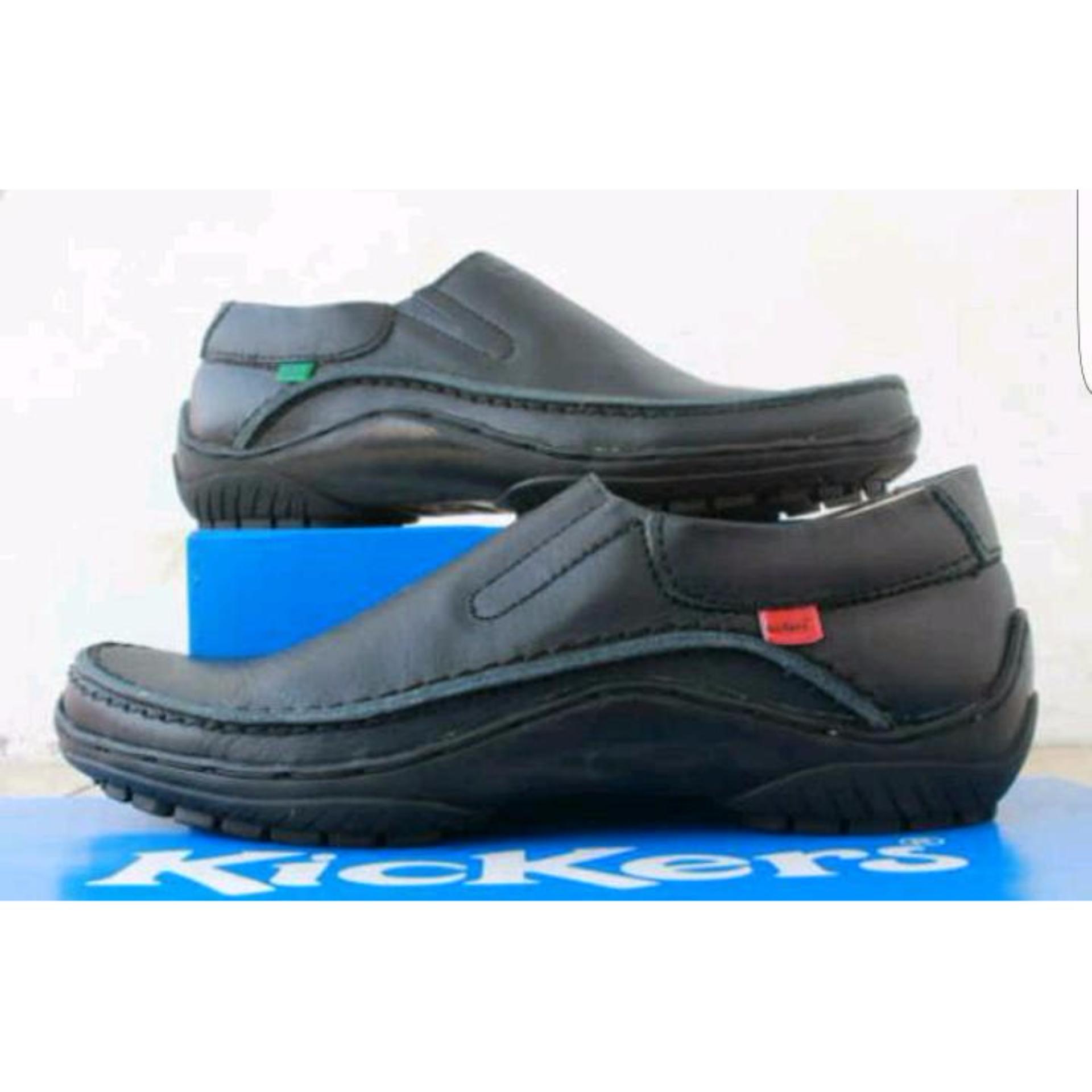 Bsm Soga Sepatu Pantofel Formal Kerja Kantor Kulit Asli Pria Bdr144 275 Boots Elegan Hitam Cocoes Marker Brown Source