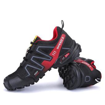 Sepatu Olahraga Outdoor Pria Sepatu Mendaki Sepatu Panjat Tebing Sepatu  Trekking Sepatu Santai . 0dfed5acb1
