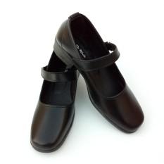 Sepatu Pantofel Wanita Bertali Paskibra Warna Hitam - Sepatu Formal Wanita