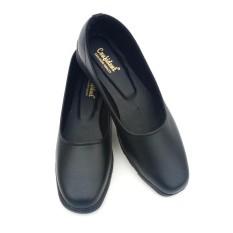 Sepatu Pantofel Wanita Polos Warna Hitam - Sepatu Formal Wanita