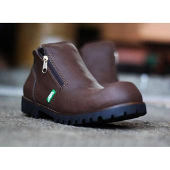 Sepatu Pria Boots Safety Resleting