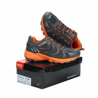 Sepatu Running Lari Olahraga Keta 193 Abu Kuning - Daftar Harga ... 5f05f0a1cc