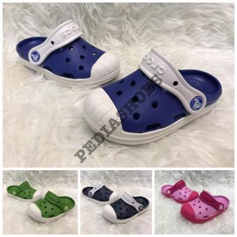 Sepatu Sandal Anak Crocs Original Bump It Clog Kids - Isb9md