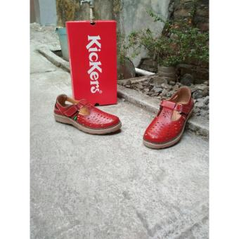 Sepatu Sandal Red Light Kickers