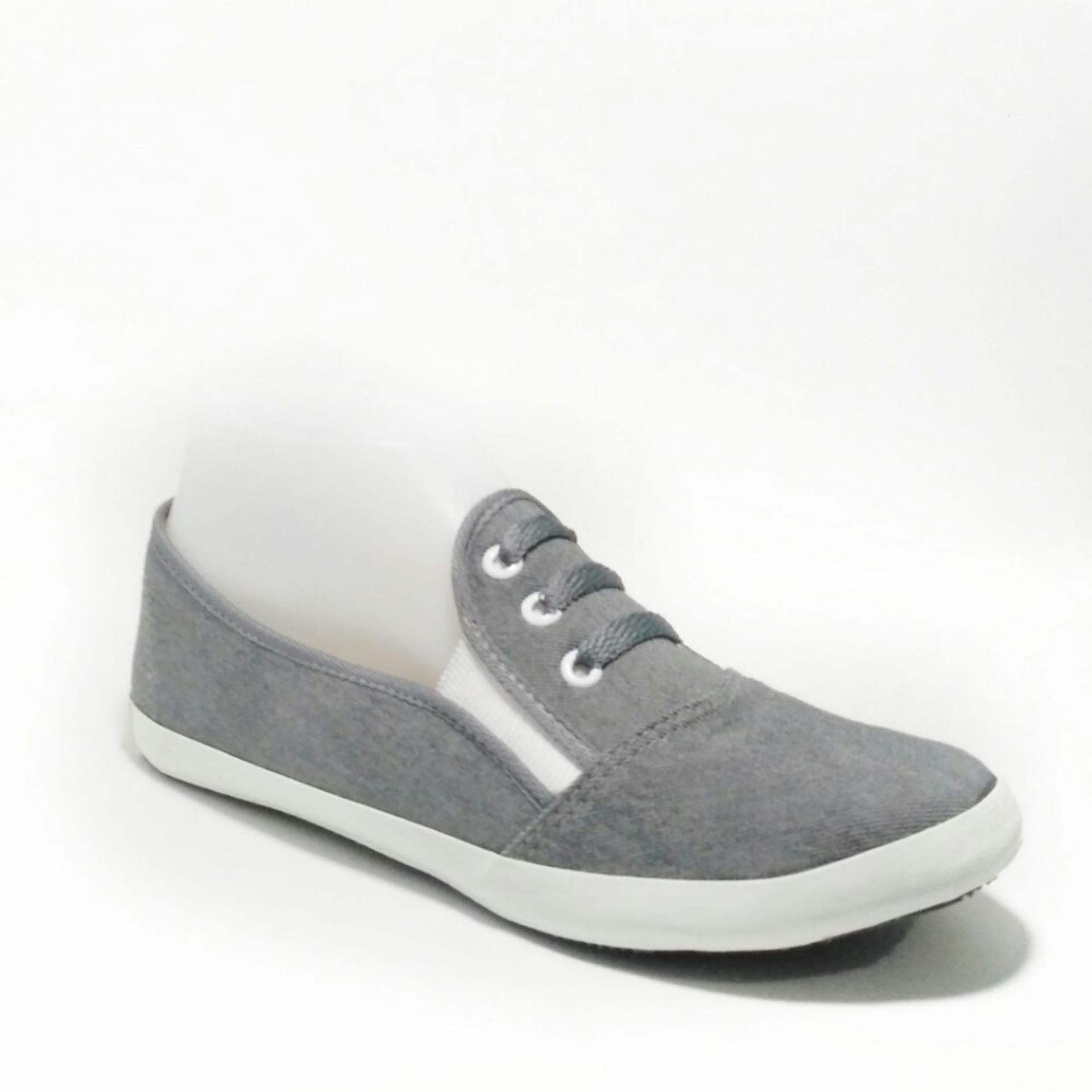 Sepatu Sandal Wanita Flatshoes Slip On Ringaan Navy Blue Daftar Dea Flat Shoes 1704 59 Coffee Size 36 41 Cokelat 40 Abu