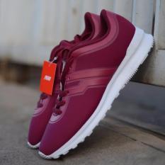 Sepatu Sneaker Piero Candide Burgundy Oryginal