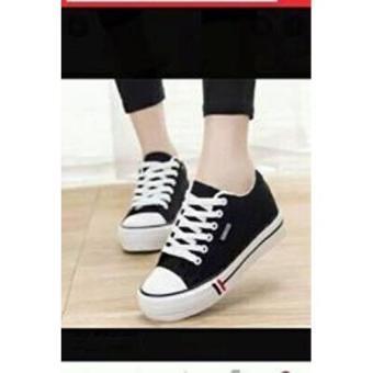 Sepatu Sneakers Wanita Utaki E-udara Hitam Fisto ID 99