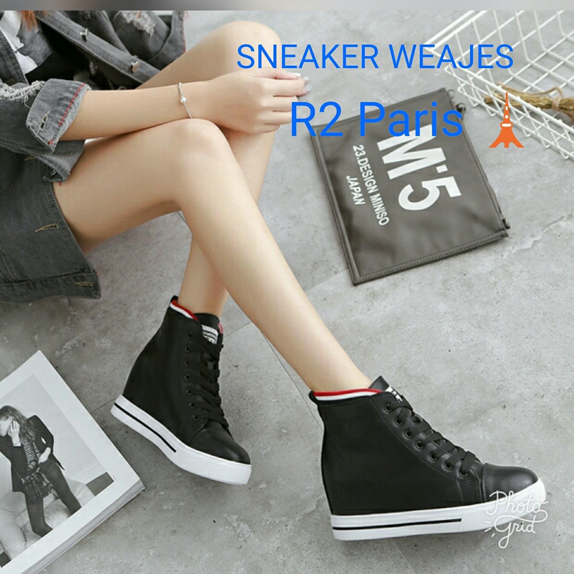 Sepatu Wanita High Heels Chains Pita Permata Pink R2 Spec Dan Linalee Clarisa Sneakers Wedges Hak 7cm Hitam Ryker