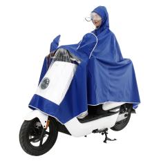 Sepeda motor listrik dewasa ganda ponco hat (-Biru)