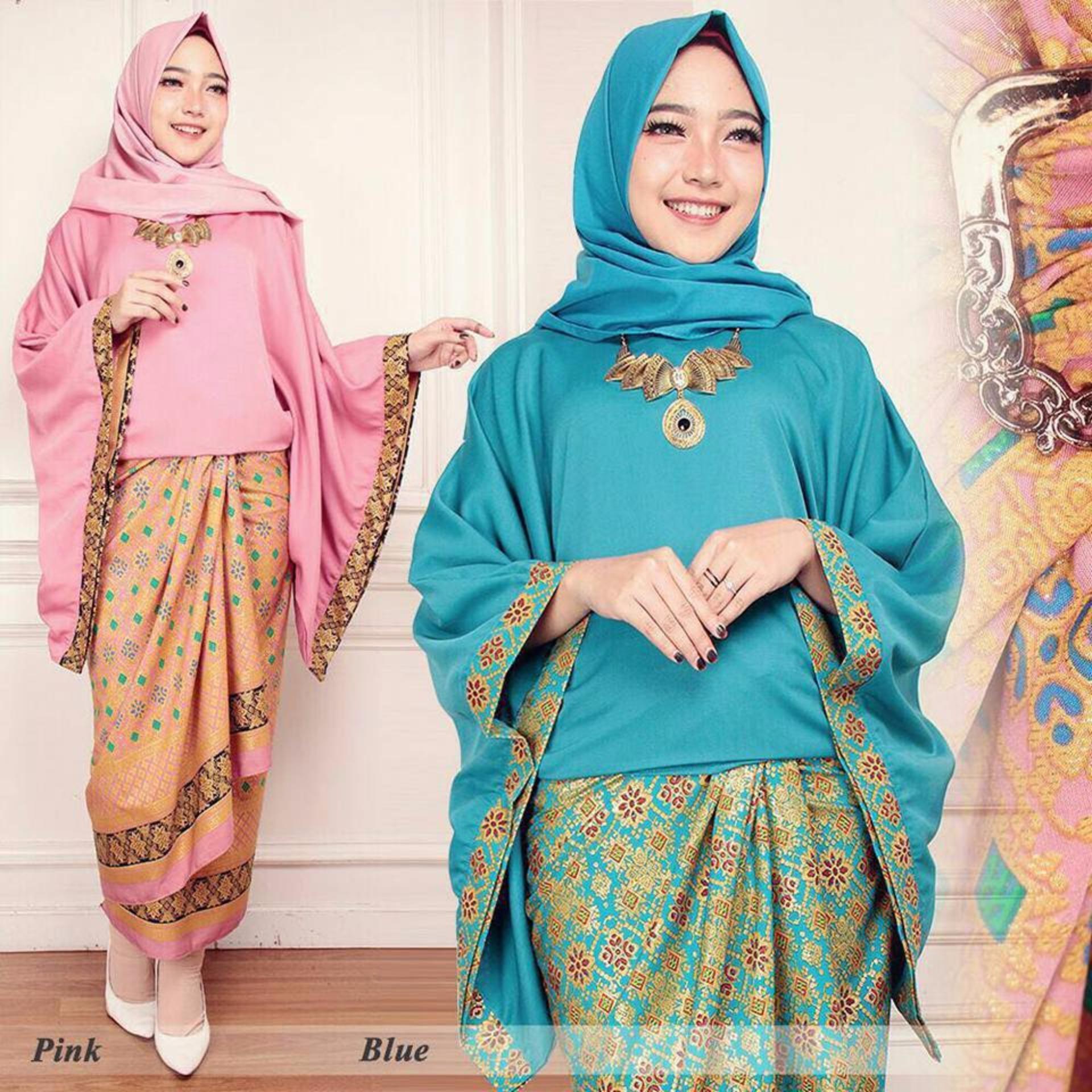 Baju Setelan Batik Wanita: MURAH Stelan Baju Batik Wanita / Kebaya Kalong Couple
