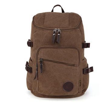 Shimon Man Canvas Travel Bag Outdoor Travel Man Backpack Waterproof Canvas Men Large Travel Bag Man