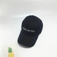 SHININGSTAR Korea Fashion Style papan lampu matahari naungan topi topi topi (Crush hitam)