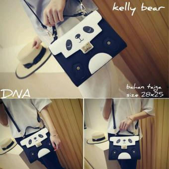 Shoulders Bag / Top Handle Bag / Tas Wanita Kelly Panda - Black