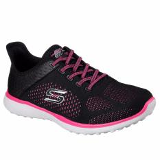 Skechers Microburst Supersonic Sports - Black Pink
