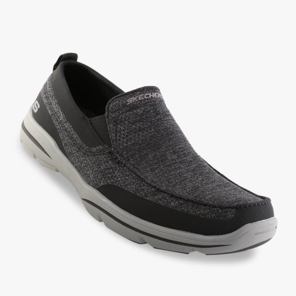 Harga Penawaran Skechers Relaxed Fit Harper Moven Men s Sneakers ... 0c4d53f258