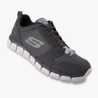 Skechers Relaxed Fit Skech-Flex 2.0 Men's Sneakers - Abu-abu - 2 ...