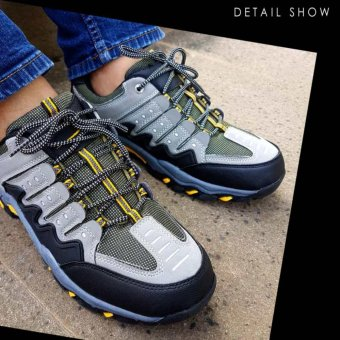 ... Skywalkgear Bryan Sepatu Sneakers Sport - 955 Grey - 5