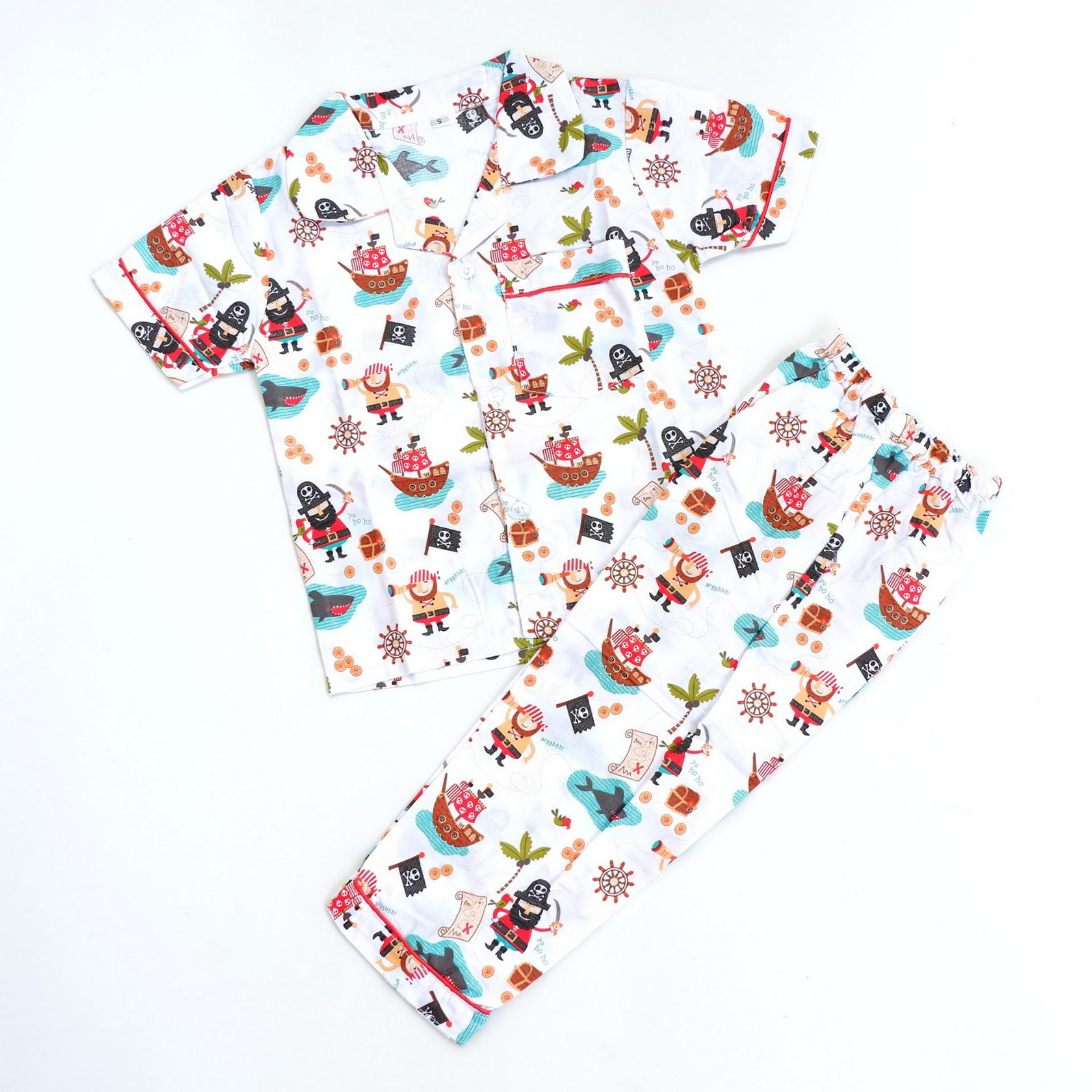 Sk 0028 Navyblue Daftar Harga Source Sleepwearkids piyama baju tidur anak pirates putih Lazada Indonesia Source