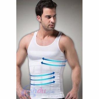 Slim N Lift Body Shaping - Pakaian Dalam Pria Pembentuk Tubuh -Putih - 4