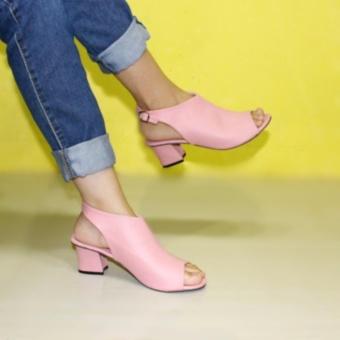 Sling Back Strap Sepatu Heels Wanita Marlee BB-27 Salem